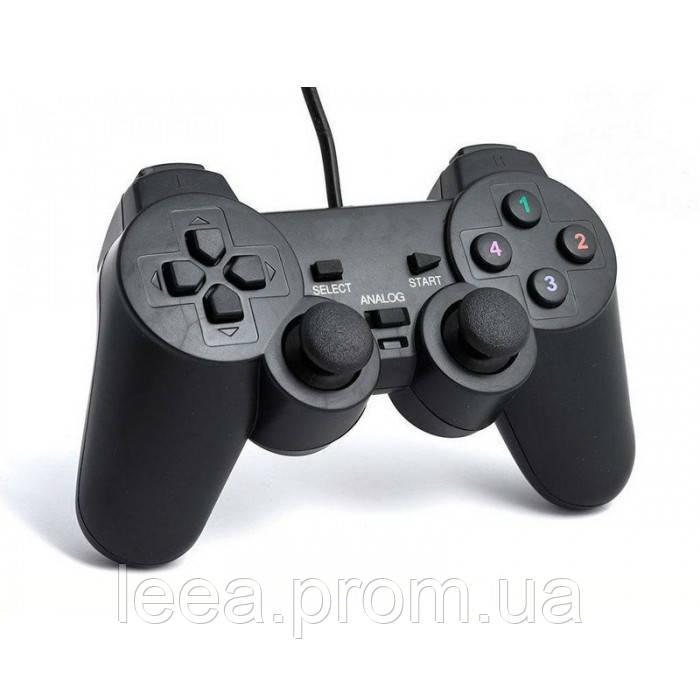 USB джойстик для ПК PC GamePad DualShock вібро