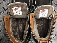 """Зимние ботинки на меху Red Wing """"Черные"""", фото 3"""