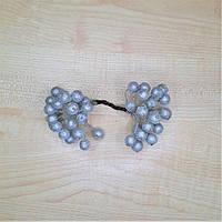Ягоды сахарные декоративные серебряные, фото 1