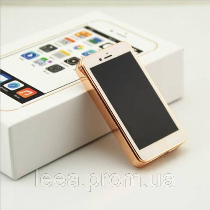 Електроімпульсна запальничка Jinlun 106 спіральна usb запальничка Iphone