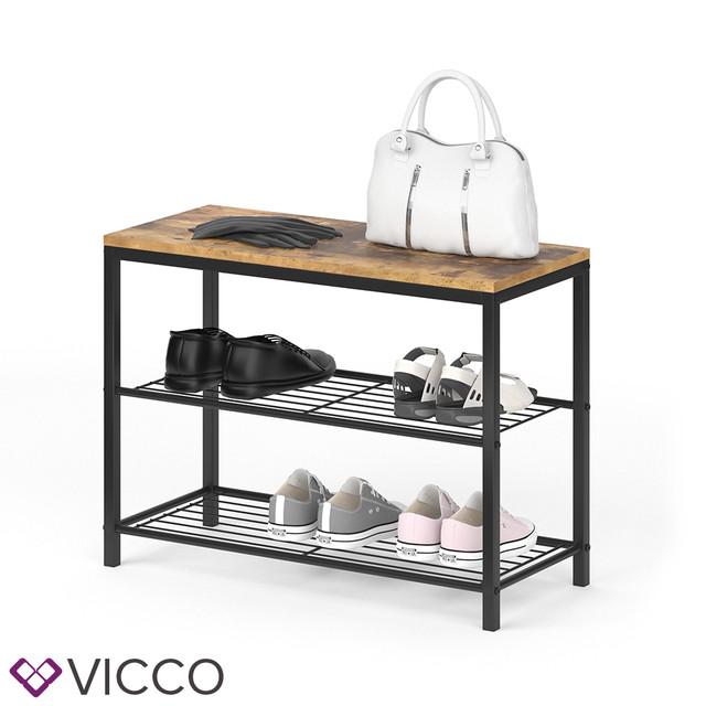 Обувница в стилі Loft Vicco Fyrk