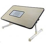 Столик для ноутбука с охлаждением ELaptop Desk A8, фото 3