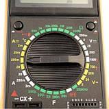 Цифровой мультиметр (тестер) DT9207A, фото 3