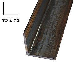 Кутник металевий 75*75