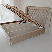 Ліжко м'яка з підйомним механізмом Мальта РКБ-Меблі, колір на вибір