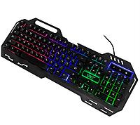 Ігрова мембранна клавіатура з підсвічуванням UKC KW-900 Чорна