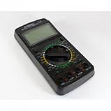 Цифровой профессиональный тестер мультиметр DT-9208A, фото 2