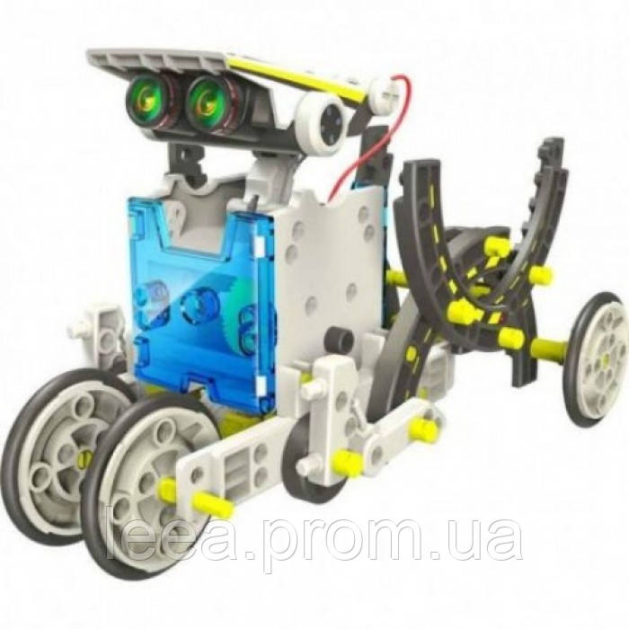 Конструктор - робот 14 в 1 на сонячних батареях