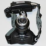 Налобный фонарик BL POLICE 2177 T6, фото 4