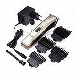 Машинка для стрижки волос Kemei KM-5017, фото 5