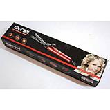 Плойка для Волос GEMEI GM-2906 щипцы + насадка-щетка для волос, фото 5