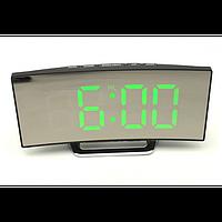 Электронные зеркальные часы настольные EDLT DT-6507