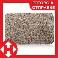 Придверный супер впитывающий коврик Clean Step Mat придверный Super Clean Mat Бежевый по Украине, фото 1