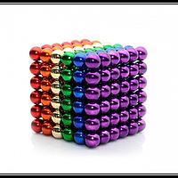 Неокуб Neocube 216 кульок 5мм в металевому боксі (різнокольоровий)
