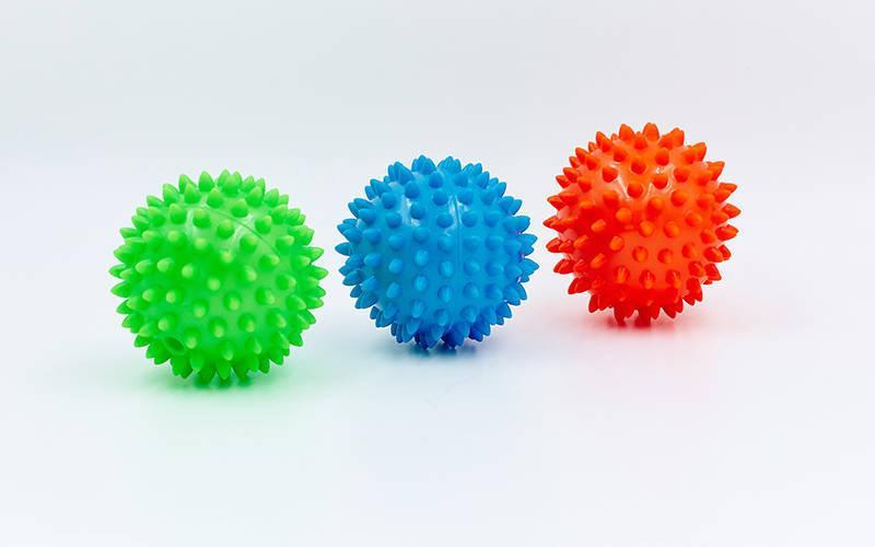 Мячик массажер резиновый SP-Planeta FI-5653-9 (d-9см, 60гр)