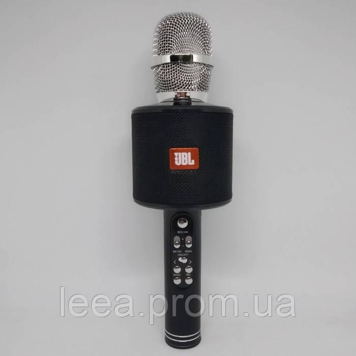 Беспроводной микрофон караоке блютуз K319 Bluetooth динамик USB