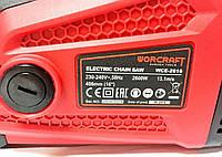 Пила цепная электрическая Worcraft WCE - 2616  2600 Вт, фото 4