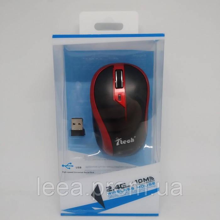 Мышка беспроводная оптическая G179 мышь Красная