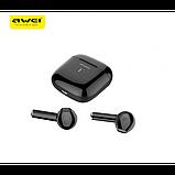Беспроводные наушники MDR T26 BT+case AWEI Чёрные, фото 3