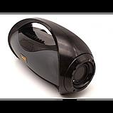 Портативный стерео бумбокс Kimiso KM-S2 (Bluetooth, USB, micro SD, FM, AUX, Mic), фото 2