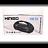 Портативний стерео бумбокс Kimiso KM-S2 (Bluetooth, USB, micro SD, FM, AUX, Mic) Чорний, фото 4
