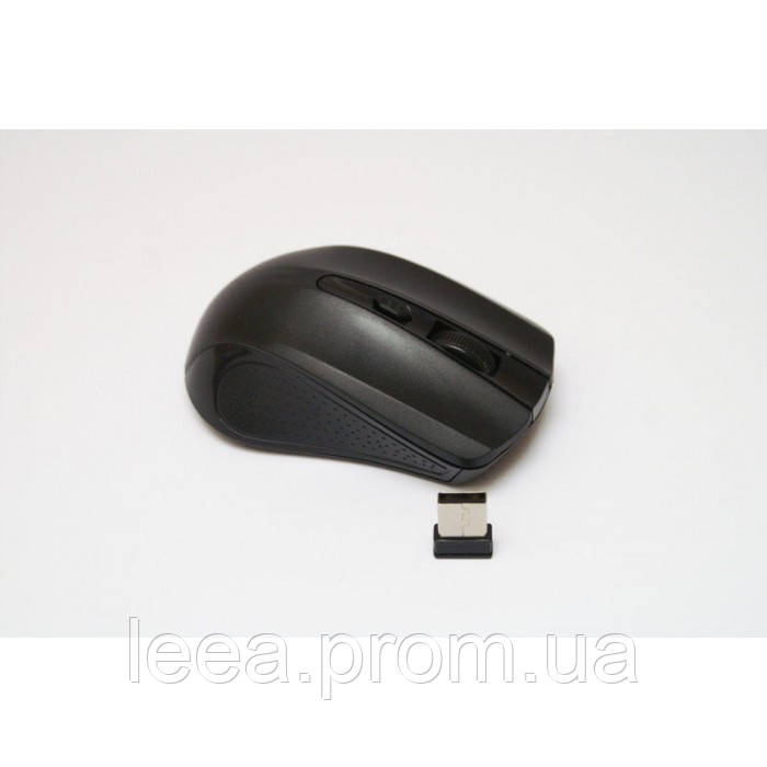 Бездротова комп'ютерна оптична мишка 211 миша Чорна