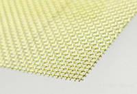Сетка латунная 0,4-0,2 мм марка Л 80 тканная ГОСТ 6613-86