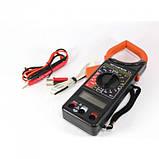 Цифровой Мультиметр DT 266FT Токовые клещи мультитестер тестер, фото 2