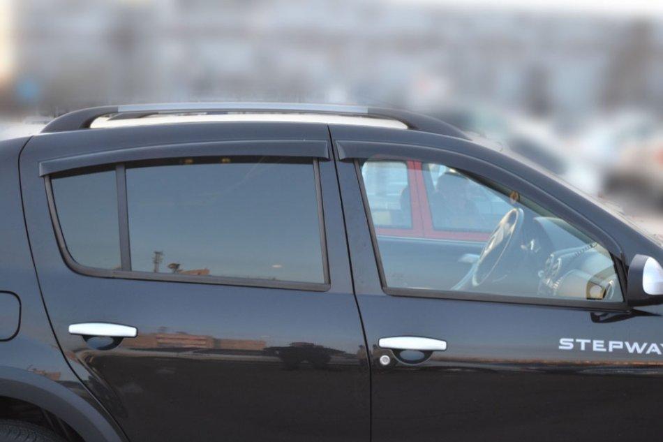 Дефлектори вікон вітровики на RENAULT Рено Sandero 2009