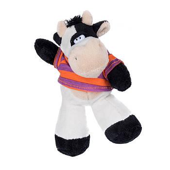 """Сувенир """"Корова в футболке"""" 18 cм код: 520135"""