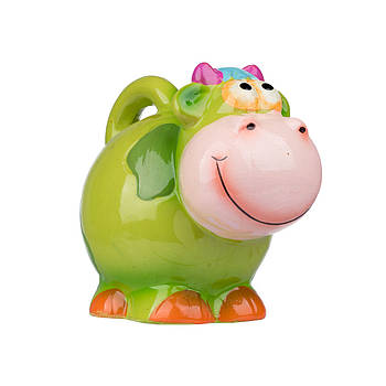 "Сувенир-копилка ""COW"" 10 см в ящ. міх: 4 цвета код: 520144"