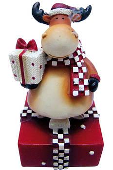 """Сувенир Yes Fun """"Дед Мороз Олень"""" 8см в ящ. міх: 2 вида код: 520378"""
