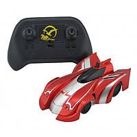 Радіокерована іграшка CLIMBER WALL RACER Антигравітаційна машинка Червона