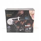 Фен Kemei KM-8869 3000W с функцией ионизацией волос, фото 3