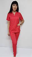 Женский хирургический костюм Кенди коттон короткий рукав