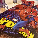 Дитяча постільна білизна. Людина Павук. Spider-man Полуторний Фланель, фото 4