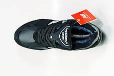 """Зимние кроссовки на меху New Balance 991 """"Черные/Серые"""", фото 3"""