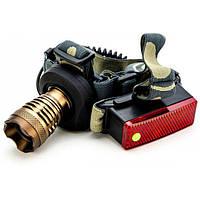Професійний акумуляторний налобний ліхтар POLICE CREE-T6 2 в 1