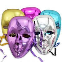 Карнавальная маска Блестящая, цвета в ассортименте