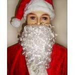 Борода Діда Мороза маленька 20 см