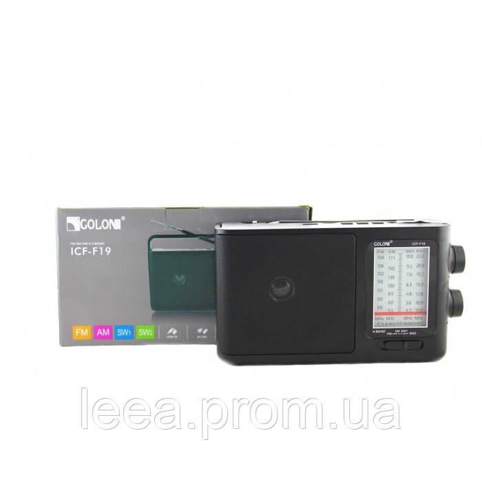 Радіоприймач ICF-F19 Чорний