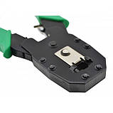 Клещи обжимные OB-315  (кримпер) для опрессовки штекера витой пары, фото 4
