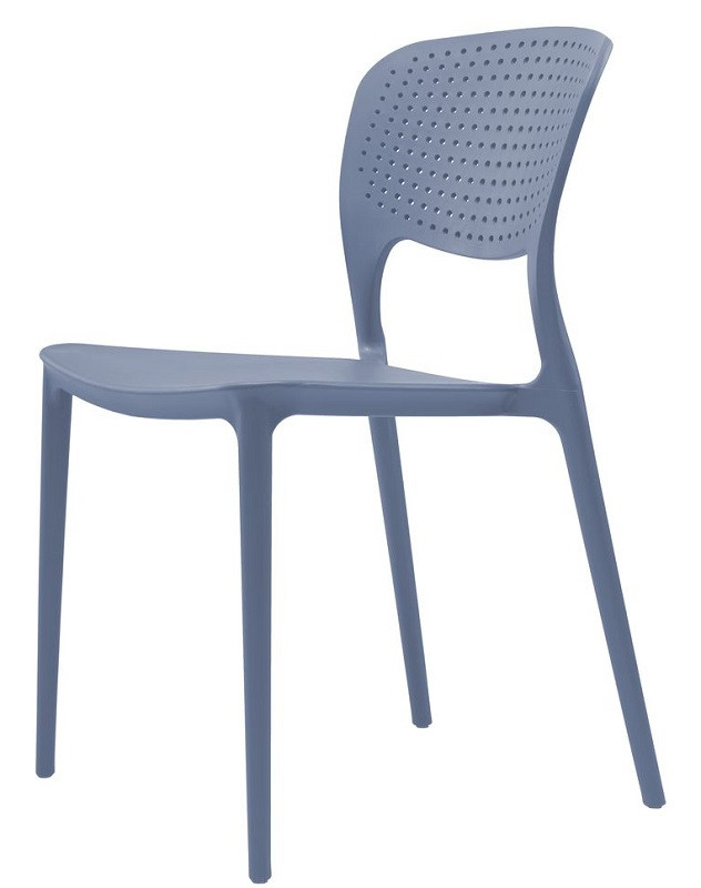 Стул Spark голубой (111842) пластик Concepto
