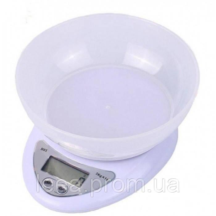 Весы кухонные Domotec ACS-126 с чашей до 7кг