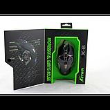 Игровая компьютерная мышь Keywin X6 проводная Чёрная, фото 2