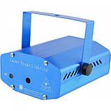 Лазерный проектор, стробоскоп, диско лазер UKC SF-6E 6 в 1 c триногой, фото 4