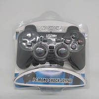 USB джойстик для ПК PC GamePad DualShock вібро DJ-208