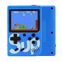 Ігрова консоль приставка з додатковим джойстиком dendy SEGA 168 ігор 8 Bit SUP Game Синій