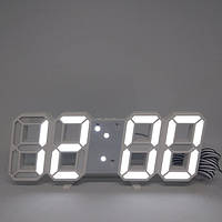 Электронные настольные LED часы с будильником и термометром LY 1089