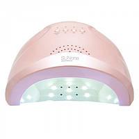 УФ лампа для ногтей Sun 1 CCFL LED 48W сушилка сенсор гель лак РОЗОВАЯ